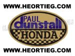 Paul Dunstall Honda Tank and Fairing Transfer Decal DDUN5-6